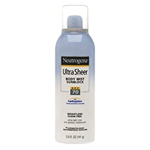 Neutrogena Ultra Sheer Sunblock