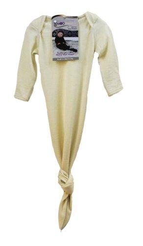 KB Designs Woombie Mod'Swad Bisque Merino Sleeper, Cream, 5-13 Pound