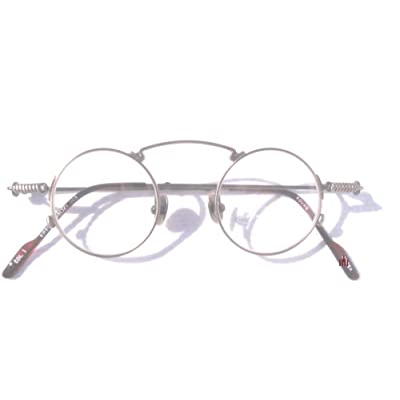 Eyeglass Frame Cleaning : Amazon.com: BRONZE 1920s Style Small Round KOURE ...
