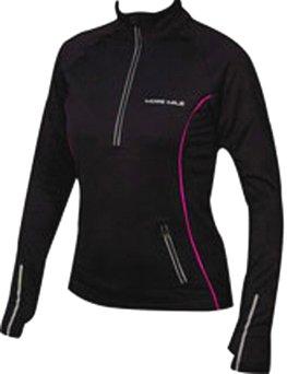 Womens more mile vancouver thermal long sleeved hi viz for Hi viz running shirt