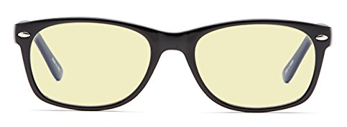 GAMMA RAY ESSENTIALS GR E-801-C1 Computer Glasses with UV Protection, Anti Blue Rays, Anti Glare and Scratch Resistant Lens in 52-18-135 Size