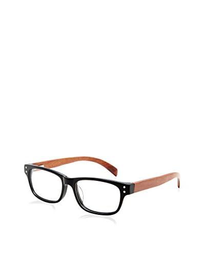 Ivory + Mason Women's Oriole Eyeglasses, Black/Cherry
