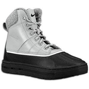 Nike Woodside (GS) ACG Big Kids Boots [415077-004] Matte Silver/Black-Light Bone Boys Shoes 415077-004-3.5