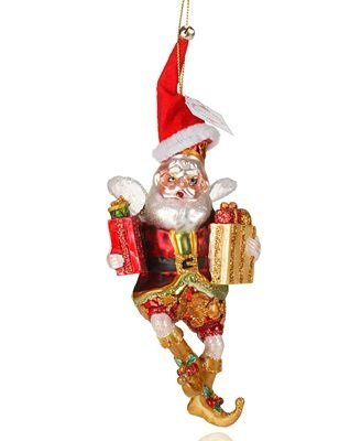 Mark Roberts Collectible Ornament, Christmas Shopping Fairy