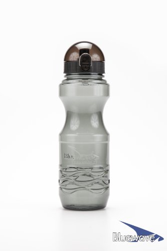 Bluewave Bullet Bpa Free Sports Water Bottle - 1 Liter (34 Oz) Graphite Grey