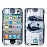 Electromaster Hundred Dollar Benjamin 2d Hard Snap-on Crystal Skin Case Cover Accessory for Ipod Touch 4th Generation 4g 4 8gb 32gb 64gb morais r the hundred foot journey