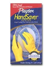 Playtex HandSaver Gloves: Medium