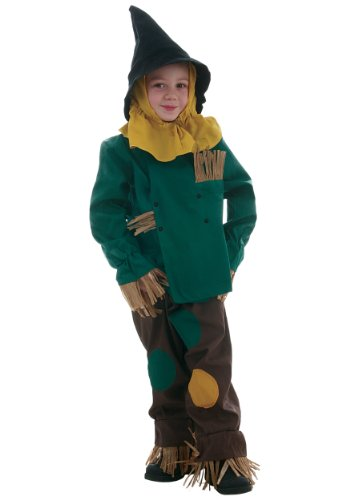 Big Boys' Ren's Scarecrow Costume Child Size 3
