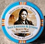 3 Tins of Navajo Medicine Of The People Sage Lavender & Juniper Beauty Way Balm 0.75 oz each, Outstanding Product
