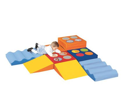 Wesco Wesco Babimodule Activity Course Kit, Multi, Foam front-1016639