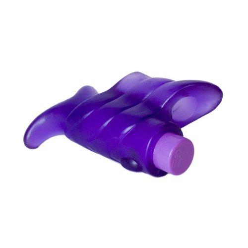 Evolved Fondle Purple 3-Speed Finger Vibrator