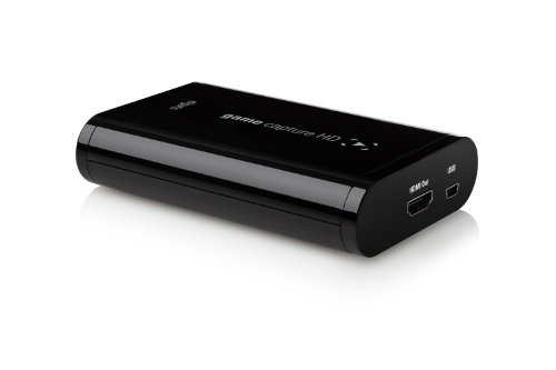 Elgato Game Capture HD PlayStation 3/Xbox 360 Recorder for Mac and PC up to 1080P (10025010)