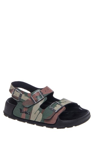 Birki's Kid's Aruba Flat Multi Strap Sandal