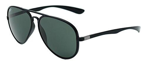 Ray-Ban Aviator Sunglasses (Black) (RY667BL58)