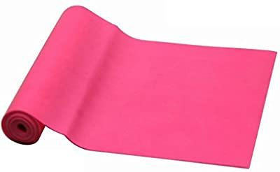 MolGym Exercise Bands 4-Foot Yoga Pilates Rubber Stretch Resistance Band