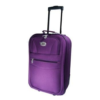 "20"" Small Purple Jazzi High Quality Hand Luggage Cabin Approved Bag Travel Holiday Weekend Overnight Suit Case from Jazzi"