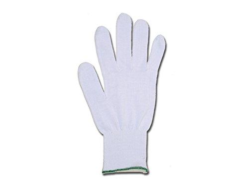 GIMA 25867 Guanti in Cotone, Bianco, 8, Confezione 10 Pezzi