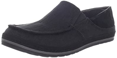 Teva Men's Clifton Creek Herringbone Shoe,Black,7 M US