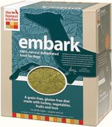 Honest Kitchen Embark, Low Carb Grain-Free Dehydrated Raw Dog Food w/ Turkey, 10lb from The Honest Kitchen