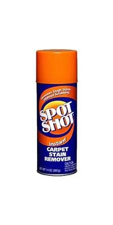 Spot Shot 009869 Aerosol Instant Carpet Stain Remover, 14 oz.