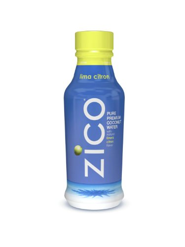 ZICO Pure Premium Coconut Water, Lima Citron 