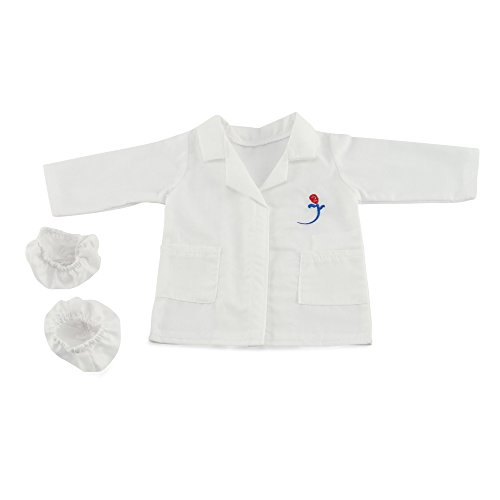 "18 Inch Doll Doctors Coat | Fits 18"" American Girl Dolls 