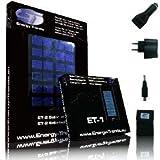 """ET - Survival Pack - Solar Ladeger�t ET-1 & ET-2 mit zus�tzlichem KFZ Adapter, Tasche, Netzteil, Mini 8 USB Pin, Solar-Akkuladervon """"ET - Energy Trends"""""""