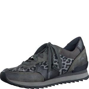 Marco Tozzi 22 23700 35 202, Sneaker donna Grigio grey antic comb. 36, Grigio (Grau-Kombi), 37