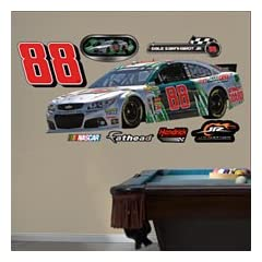 Dale Earnhardt Jr. #88 Diet Mountain Dew Car- REAL BIG Fathead Wall Graphics (W x H)... by Fathead
