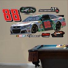 "Dale Earnhardt Jr. #88 Diet Mountain Dew Car- Real Big Fathead Wall Graphics (W X H) 6'11"" X 2'8"""