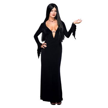 Addams Family Sexy Morticia Adult Costume