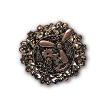 Forum Novelties Inc. Steampunk Copper Propeller & Gears Ring
