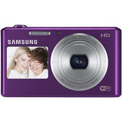 Samsung DV150F Smart Dual View Wi-Fi Digital Camera (Plum)