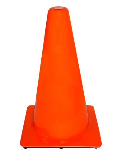 3M PVC Traffic Safety Cone, 18-Inch
