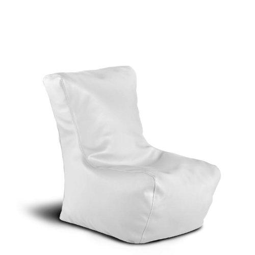 Migliori Pouf poltroncina MINI-LADY Mamba ecopelle trendy bianco imbottito - idea regalo bambini - Avalon