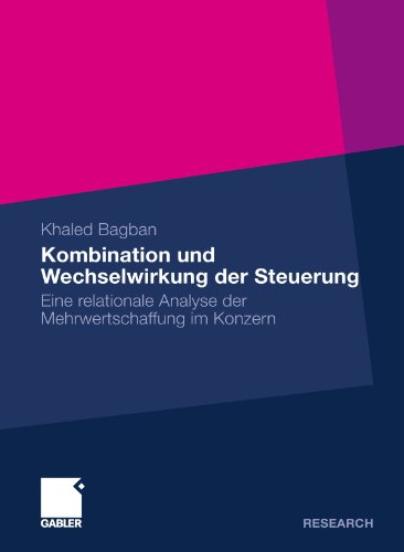 Kombination und Wechselwirkung der Steuerung: Eine relationale Analyse der Mehrwertschaffung im Konzern (German Edition)