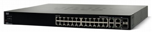 Cisco Small Business Managed Switch SFE2000 Commutateur Géré 24 x 10/100 + 2 x SFP Gigabit combiné + 2 x 10/100/1000 Montable sur rack