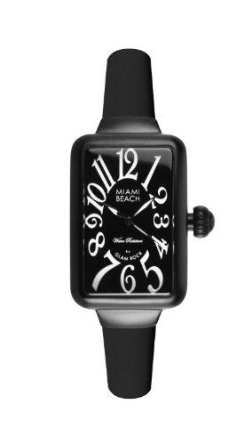 Glam Rock - 0.96.2952 - Montre Femme - Quartz Analogique - Bracelet Silicone Noir