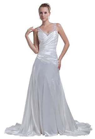 Herafa Wedding Dress Elegant NOw35177 Amazon Fashion