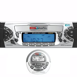 Boss Marine MR2080W Car Audio Player - CD-R,