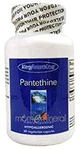 Pantethine 600 mg 60 Vegetarian Capsules by Allergy Research Group