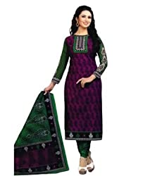 Airfashion Women's Unstiched Dress Material (SG-733_Multi_Free Size)