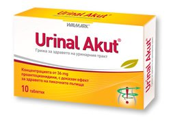 Tablets for cystitis