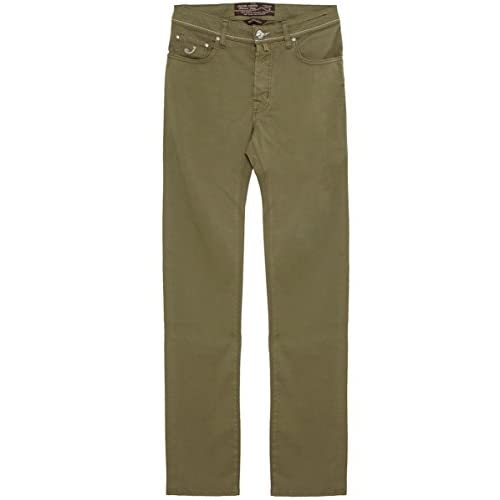 <strong>Jacob Cohen Slim Fit Gabardine <strong>Jeans Khaki