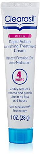 Clearasil Ultra Rapid Action Vanishing Acne Treatment Cream, 1 Ounce