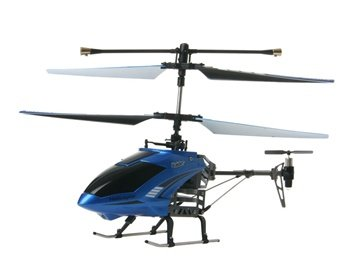 4-Channel 3D RC Helicopter with Built-in Gyroscope (Blue)