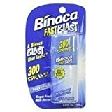 Binaca Fastblast Breath Spray Peppermint (Pack of 6)