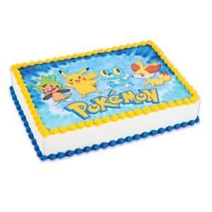 Amazon.com: Pokemon Cake Icing Edible Image: Kitchen & Dining