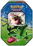 Pokemon Platinum Fall 2009 Collector Tin Set Rayquaza with Rayquaza C LV X Foil Card