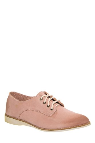 Unisex Derby Low Heel Oxford Shoes